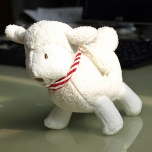 Das Schaf von Babylove.