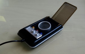 Star Trek TOS Communicator, als USB-Telefon mit X-Lite