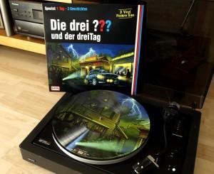 Die drei Fragezeichen (???) und der dreiTag, Vinyl Special und Lenco L80 Plattenspieler