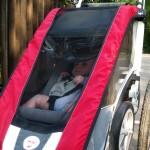 Piet, wie er lässig im Cougar sitzt und weiterfahren will.