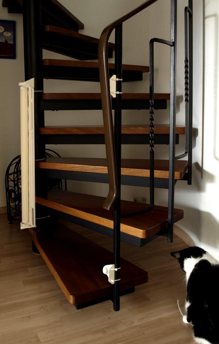 die wendel treppensicherung vollzeitvater. Black Bedroom Furniture Sets. Home Design Ideas
