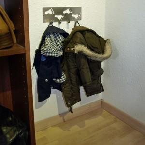 Eine Garderobe für Piet