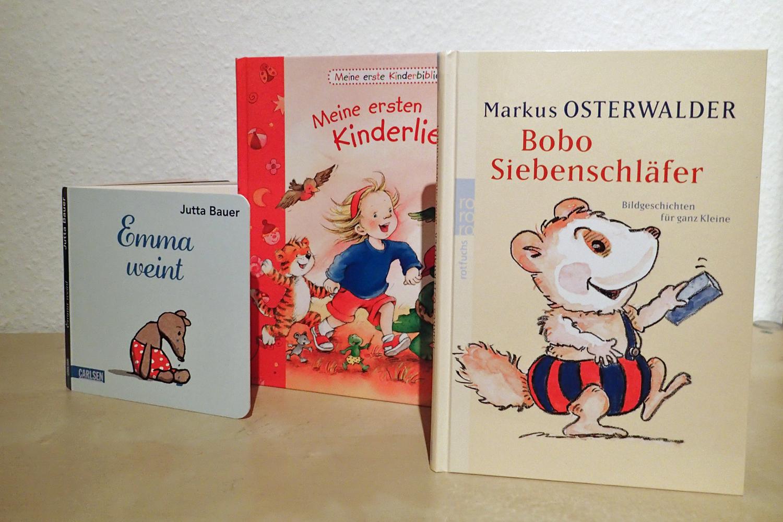 beliebte Bücher für U3-Kinder