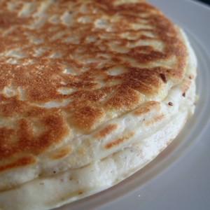Pfannkuchen, ohne Zucker, ohne Ei, glutenfrei, caseinfrei