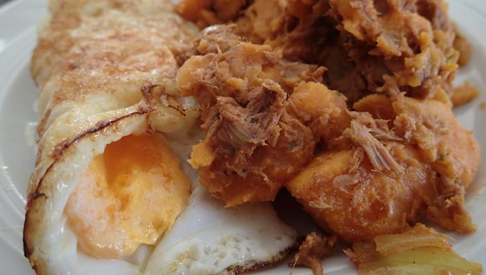 Süßkartoffel-Thunfisch-Salat, gfcf, paleo