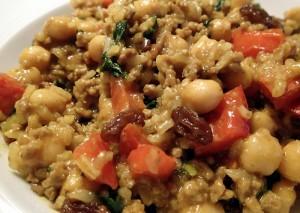 Kichererbsen-Curry mit Hackfleisch, glutenfrei, caseinfrei