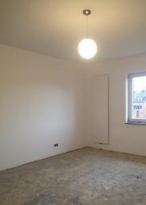 Schlafzimmer: Es fehlt nur noch der Boden