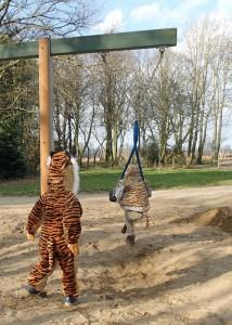 Zwei Tiger gegen die Superhelden