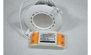 Der Iwy Star Einbaustrahler ermöglicht das Einstellen der Lichtfarbe und der Helligkeit. Die dimmbaren Led Einbauleuchten lassen sich mit Tablet-PCs oder einem Smartphone steuern