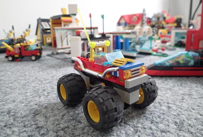 Die Lego-Stadt wächst und wächst.