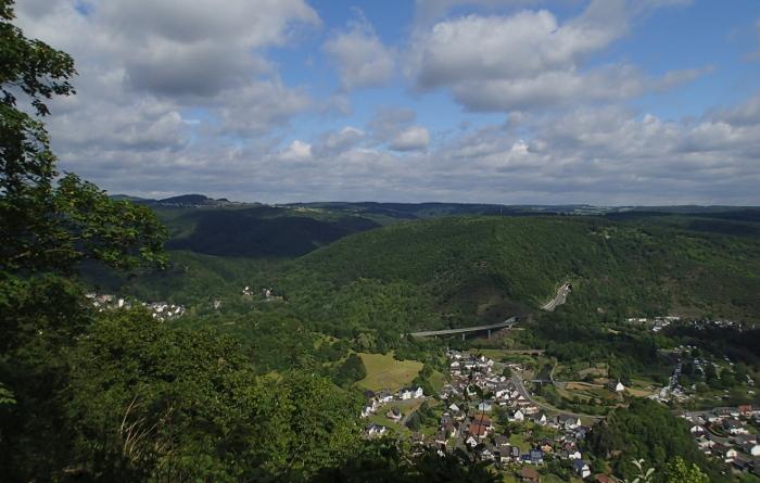 Aussicht Ahrsteig, Hornberg
