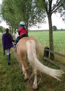 Probereiten auf dem Ponyhof