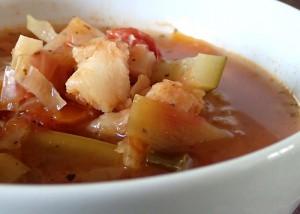 Fischsuppe, ganz einfach, paleo, gfcf