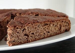 Schoko-Proteinkuchen, wie Lebkuchen, glutenfrei