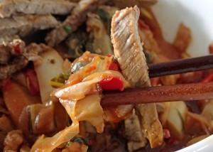 Rindfleisch mit Gemüse, chinesische Variante