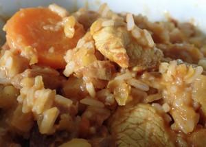 Puten-Curry mit Quitten