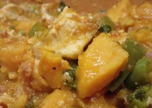 Aus dem Tontopf: Hühnchen mit Süßkartoffeln, paleo. glutenfrei, caseinfrei