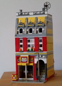 Lego Modular-House: Post Office