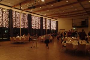 Ballsaal der Jugendherberge in Prüm