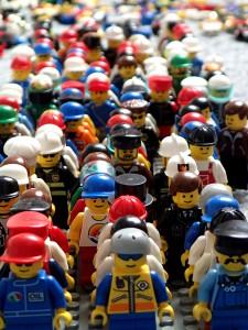 """Lego-Figuren """"City"""" """"Stadt"""