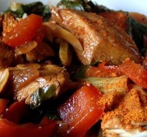 Hähnchen mit Pak-Choi, glutenfrei