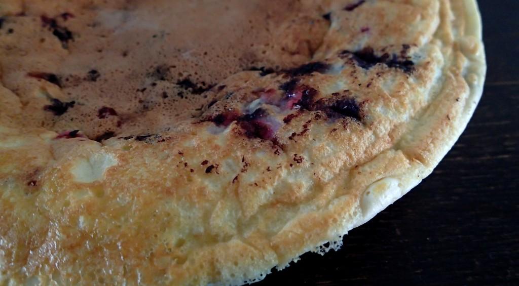 Blaubeer-Protein-Pfannkuchen