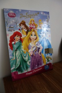 Adventskalender, Disney Prinzessinen