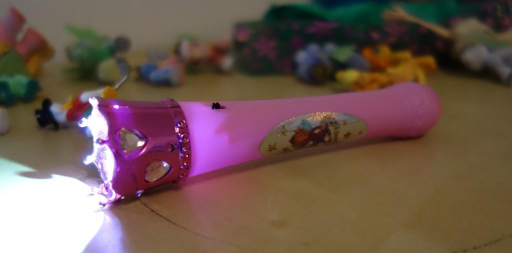 Eine Taschenlampe