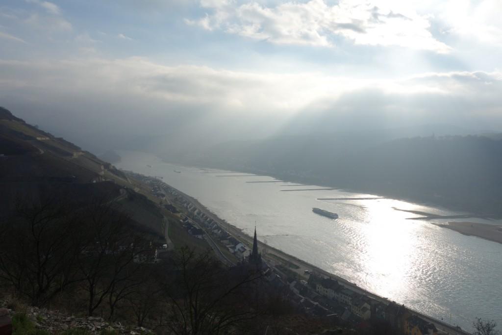 Rheinsteig: Kaub nach Lorch