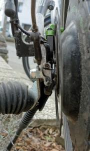 Weber-Kupplung-E am Pedelec mit Hinterradmotor