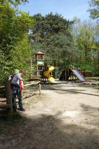 Spielplatz im Tierpark in Brüggen