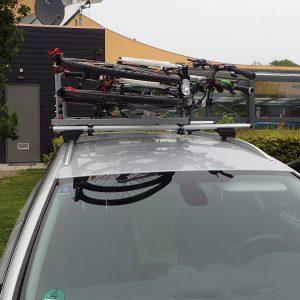 Dachlift für Fahrräder, Fahrradträger