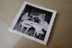 alte Fotos rechtzeitig beschriften