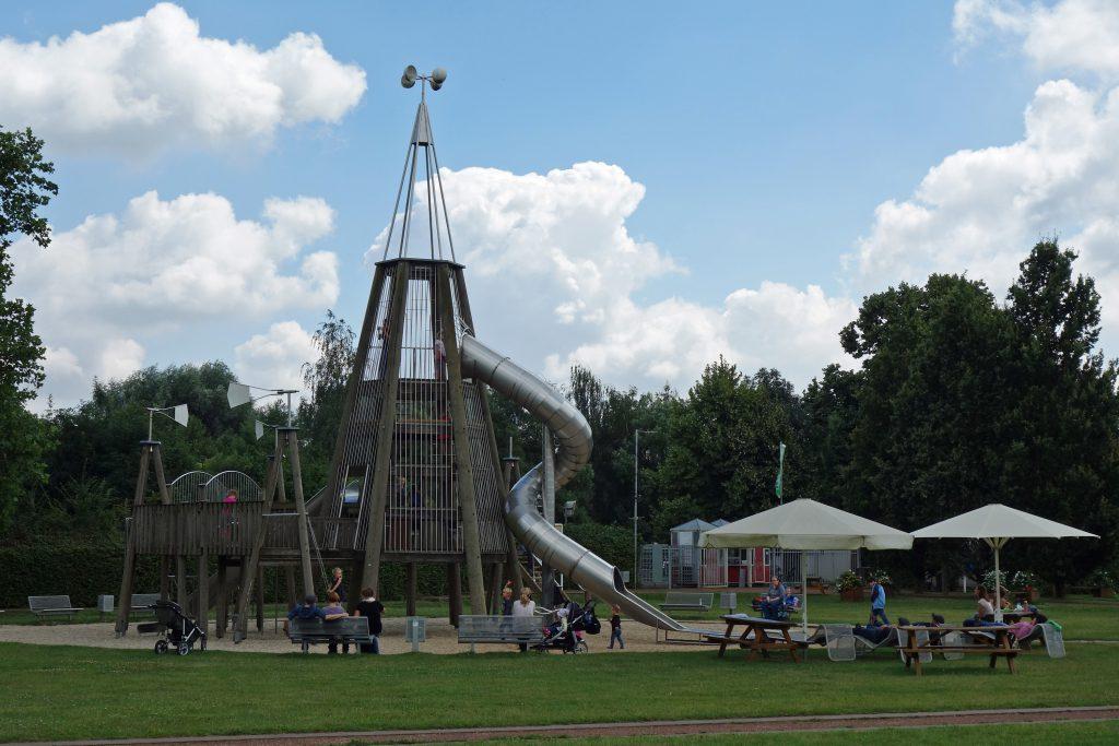 Spielplatz in der Zitadelle Jülich