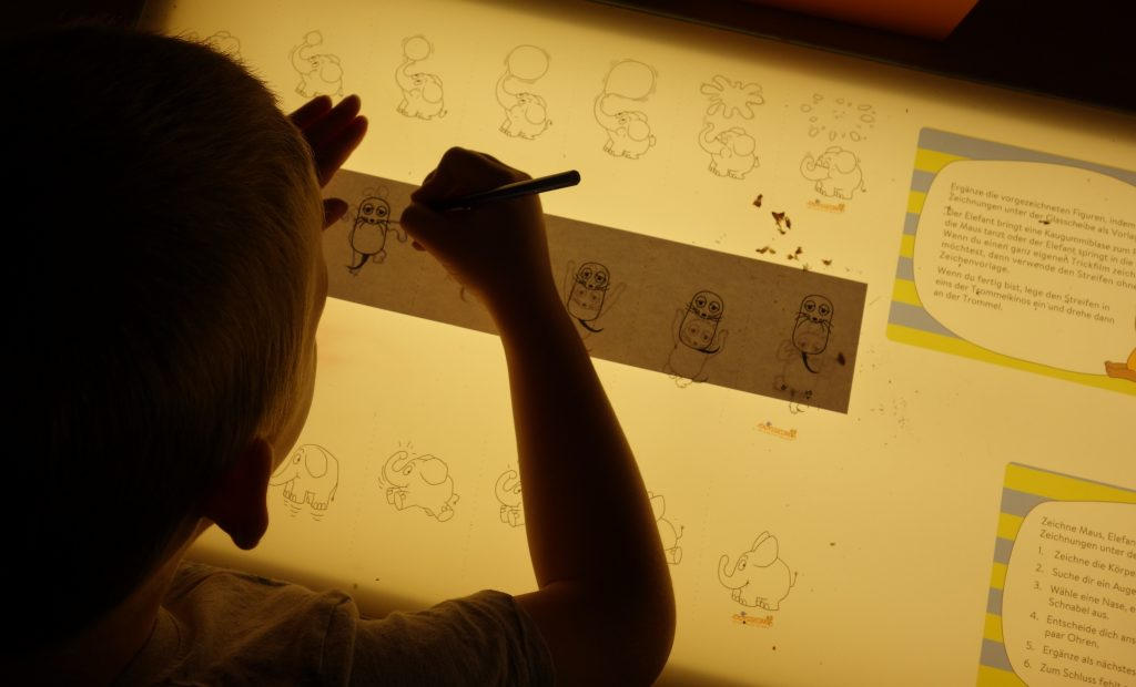 zeichentrickfilm selber machen für kinder