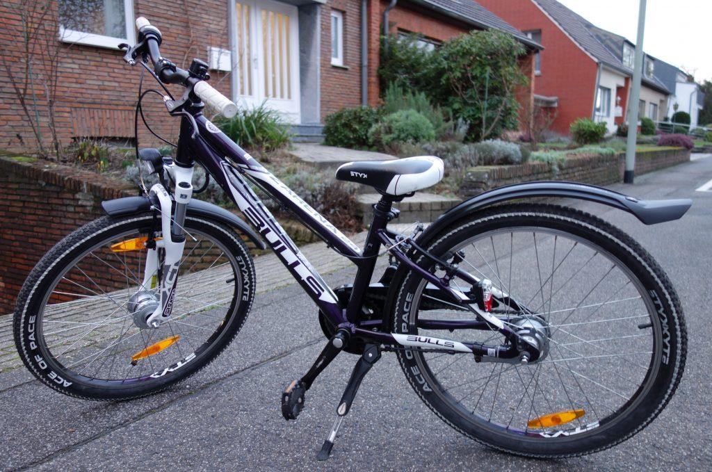 Das Vierte Kinder Fahrrad Vollzeitvater