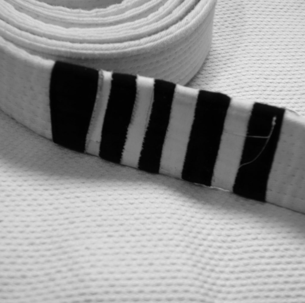 Whitebelt, 4 Stripes, CJJF