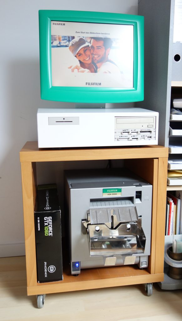 Fujifilm Order-it Kiosk-System im Homeoffice